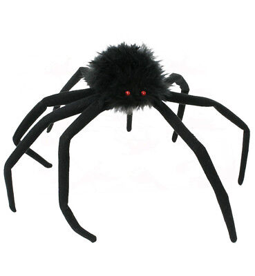 Dekospinne Groß, Halloween, Karneval, Mottoparty, Dekorationsartikel 125421013F (Halloween Spinne Dekorationen)