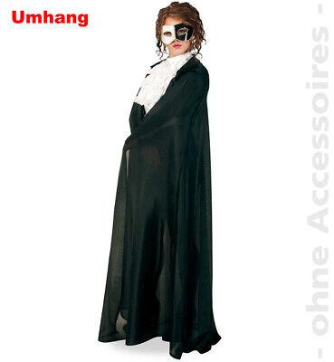 Umhang Phantom der Oper Vampir venezianischer Karneval Unisex Kostüm (Kostüme Der Vampire)