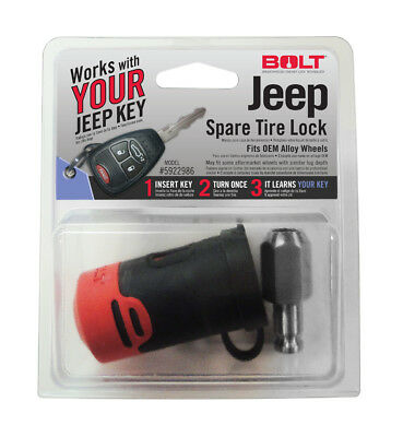 - BOLT Lock 5922986 Jeep Spare Tire Lock Use Your Jeep Key Lock