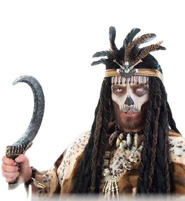 Zubehör-Set Voodoo 4-teilig für Erwachsene Halloween 120001913F