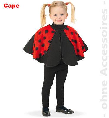 Cape Kinder Kostüm Käferkostüm Käfer Marienkäfer Glückskäfer - Marienkäfer Cape Kostüme