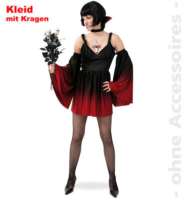 Vampirin Kostüm Damen Devil Lady Vamp Teuflin Königin der Nacht - Königin Der Nacht Kostüm