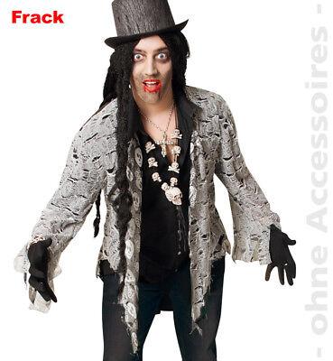Zombie Kostüm Herren Horror Frack Untote Halloween Herrenkostüm