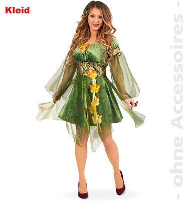 Waldfee Damen Feekostüm Kostüm Waldelfe Elfe Naturgeist - Wald Fee Kostüm