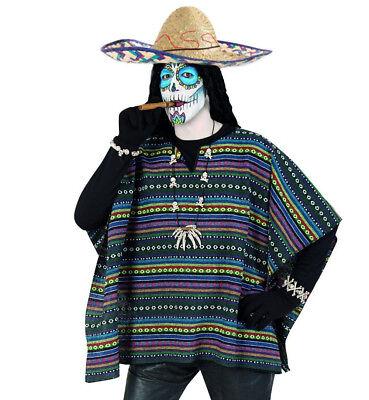 l Taco und Sombrero 2-tlg. in Einheitsgröße 1214690/3844813F (Poncho Und Sombrero Kostüm)