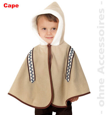Cape Children Eskimo Costume Inuit Childrens Fancy Dress Eskimo Costume - Boys Eskimo Costume