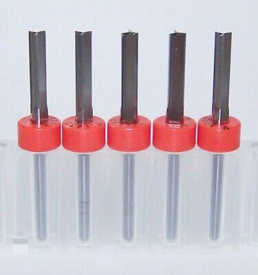 5 18 .1250 3 Flute Carbide Endmills - 0 Helix 1735.1250.500 - New Tool