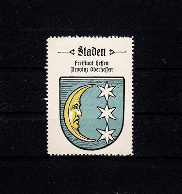 405860/ Reklamemarke - Kaffee Hag - Wappen von Staden / Hessen