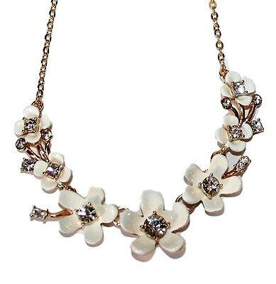 NWT Kate Spade Pretty Petals Floral Mini Necklace Pendant