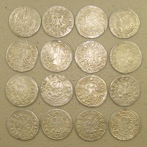 1501-1506 Lithuania (Under Polish Rule) Alexander I Silver 1/2 Groschen VF