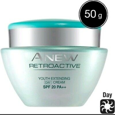 (Avon Anew Retroactive Youth Extending Day Cream SPF20 PA++ 50g NEW Discontinued)