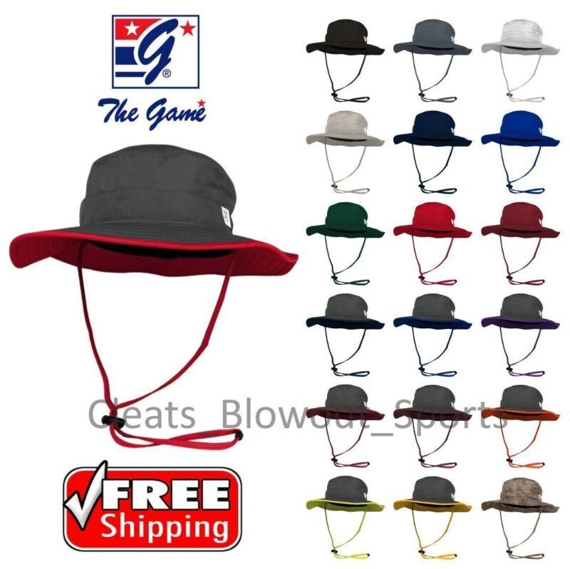 The Game Boonie Athletic Bucket Hat Football Fishing Softball Wide Brim GB400