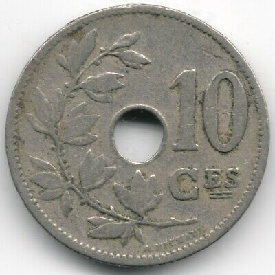 Belgium : 10 Centimes 1902 French Legend