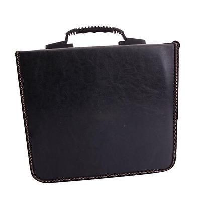 240 Disc CD DVD Storage Bag Organizer Holder Media Viedo Album Case Black &Brown