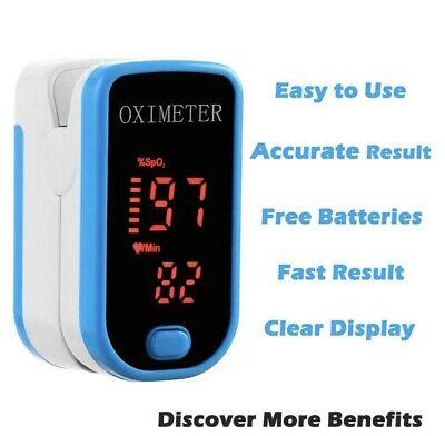 Brand New Fingertip Pulse Oximeter Blood Oxygen Saturation Finger Pr Monitor