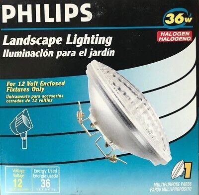 Philips 36-Watt 12-Volt PAR36 Halogen Reflector Flood Light w/ Multipurpose Base Par36 Halogen Reflector