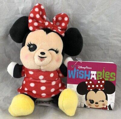 Disney Parks Wishables Minnie Mouse Cute Kawaii 4 inch Plush Toy - NEW](Plush Minnie Mouse)