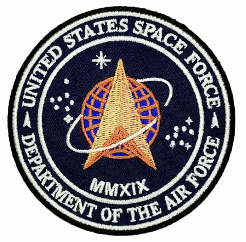 "United States Space Force Patch [3.5 inch -""Velcro Brand"" Fastener -S10]"