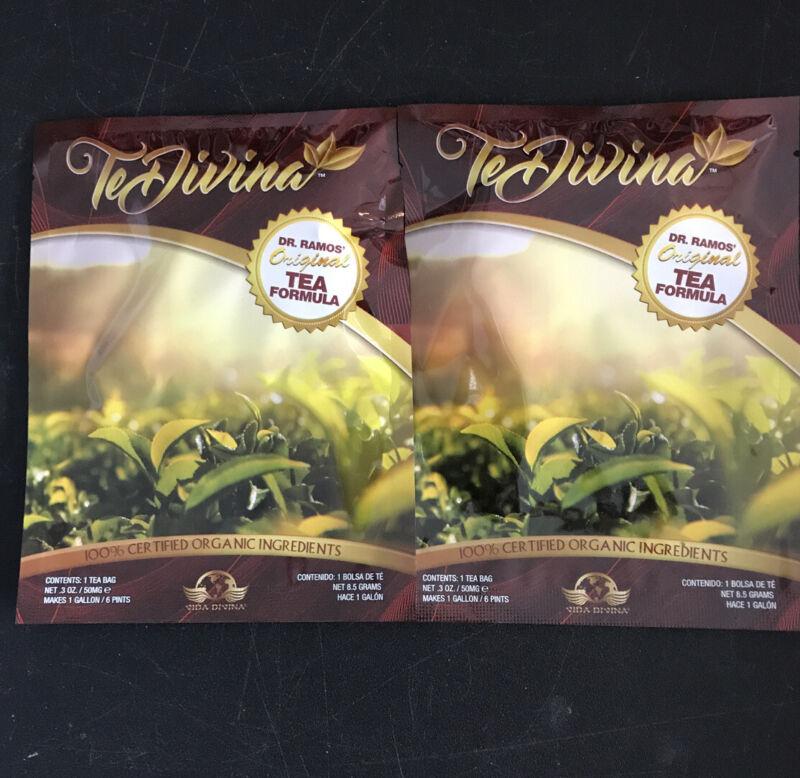 Te Divina The Original Detox Tea. 2 Weeks supply.TeDivina 2 bags. Organic detox