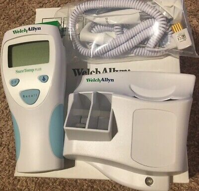 Welch Allyn Thermometer 01690-300 With Wall Mount New In Original Box