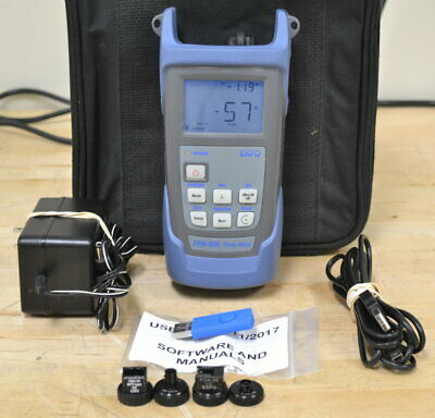Exfo Fpm-602x Hand-held Optical Power Meter Good Qty Available