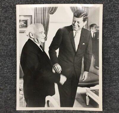 President John F. Kennedy JFK 1961 May New York Original Press Photo A7