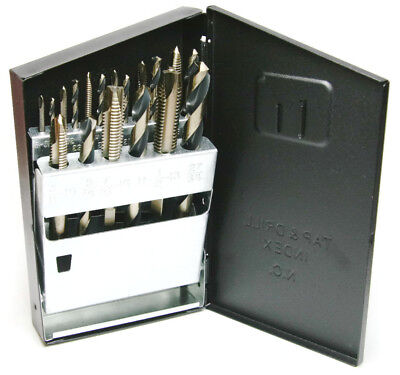 Norseman Drill and Tap Set UNC Taps - 18PC Magnum Super Premium SP-18TD USA Made
