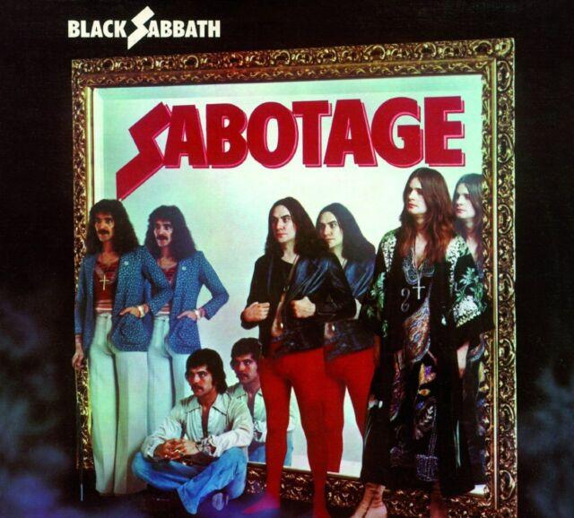 BLACK SABBATH Sabotage - LP / Vinyl + CD - 180 G - Reissue 2015