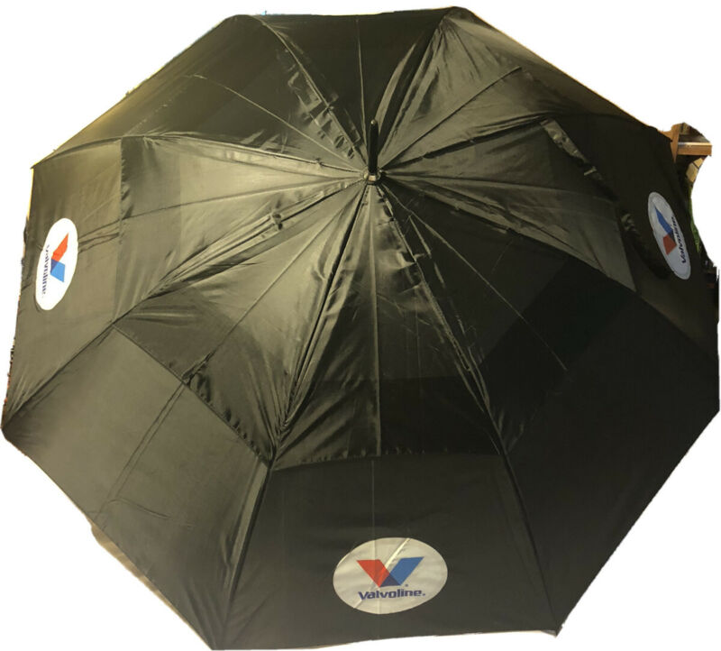 Valvoline Logo Umbrella Golf Racing New