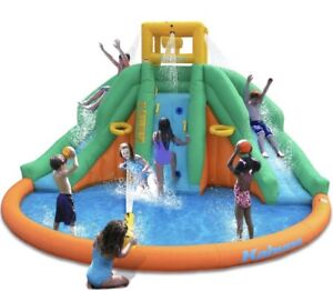 Jeu gonflable Aquatique LOCATION - Water spray bounce house