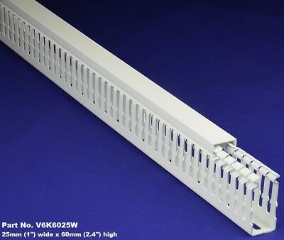 30 Sets - 1x2x2m White High Density Premium Wiring Ducts And Covers -ulcsace