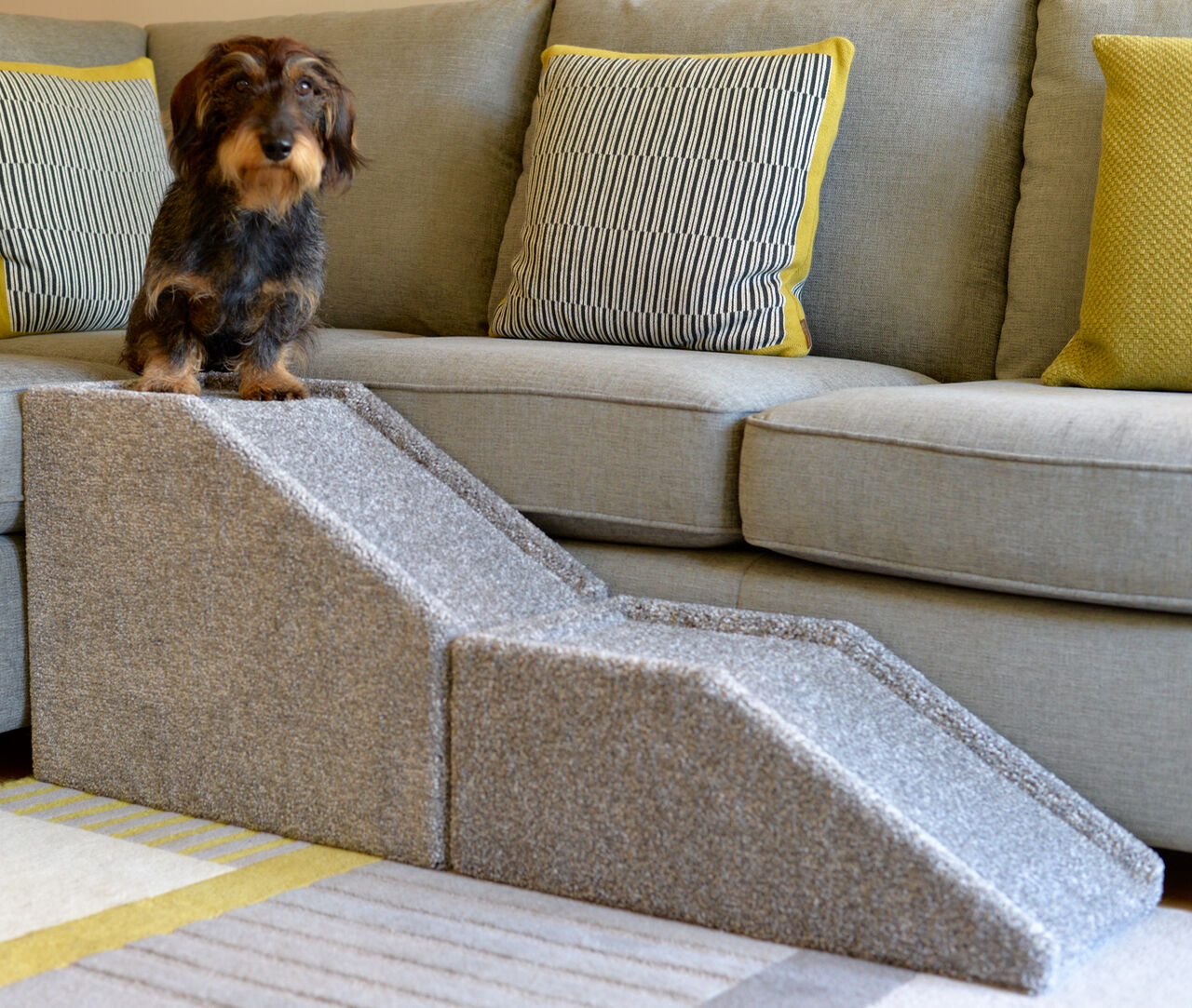Dog Ramp For Bed >> DOG RAMP HANDMADE Indoor Pet Cat Dog Bed Sofa Steps Stairs Portable Lightweight - £70.00 ...