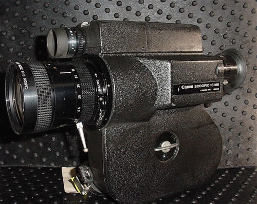 Canon Scoopic MS 16mm Camera. SUPER Clean. Running 100%.USA Version. Many Avail.