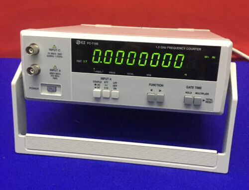 EZ DIGITAL CO.,FC-71501.5 GHz FREQUENCY COUNTER