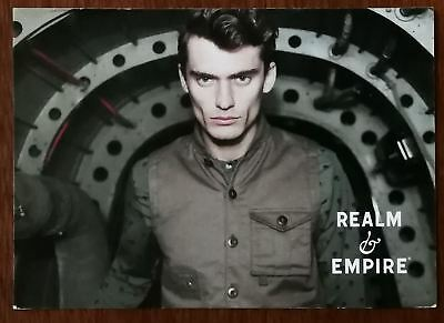 Realm Of Empire Clothing Collection Promotional Post Card