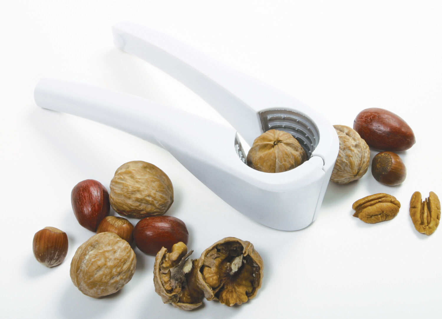 Norpro Deluxe Nutcracker - Walnut Almond Pecan Hazelnut Hand Nut Cracker Sheller on Sale