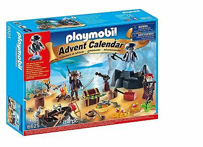 Playmobil #6625 Advent Calendar Pirate Treasure Island NEW in Box Retired RARE
