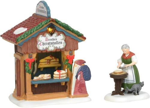 Department 56 Alpine Village Christmas Market Holiday Bread Booth 6004805 NEW