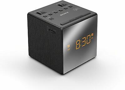 Sony ICF-C1T Desktop Alarm Clock AM FM Radio Black - NEW