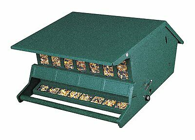 Audubon 7511I Bird's Choice Squirrel Proof Feeder, 9 Lbs Seed Capacity