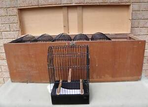 6 x Yorkshire Canary Show Cages w/ carry box Bibra Lake Cockburn Area Preview