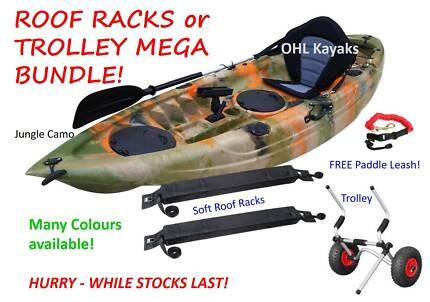 2018 Model Fishing Kayak - Special MEGA BUNDLE!