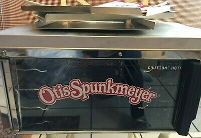 Otis Spunkmeyer Eeuc Os-1 Nsf Commercial Cookie Oven W 3 Trays Hot Pad Papers