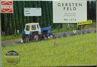 Schwarze Gerste (BUSCH H0 1216: Gerste, Neu, OVP)