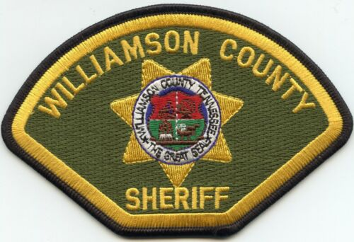 WILLIAMSON COUNTY TENNESSEE TN SHERIFF POLICE PATCH