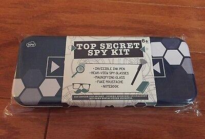 NPW Top Secret Spy Kit w/ Invisible Ink Pen,spy glasses,etc.- Perfect Party gift (Spy Kids Glasses)