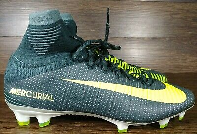 Nike Mercurial Superfly V CR7 FG Ronaldo Volt Soccer Cleat Sz 8NEW 852511 376