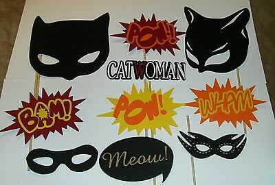 Hand Crafted Photo Booth Props Catwoman / Super Hero / Crime Fighter (2144D) ()