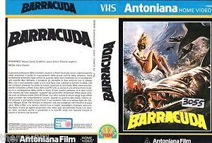 Barracuda (1978) VHS Antoniana Video Wayne David Crawford Harry Kerwin - Italia - L'oggetto può essere restituito - Italia