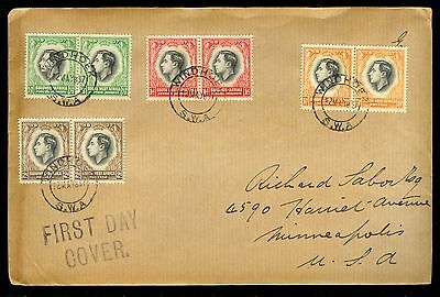 1937  South West Africa   1St Day Cover
